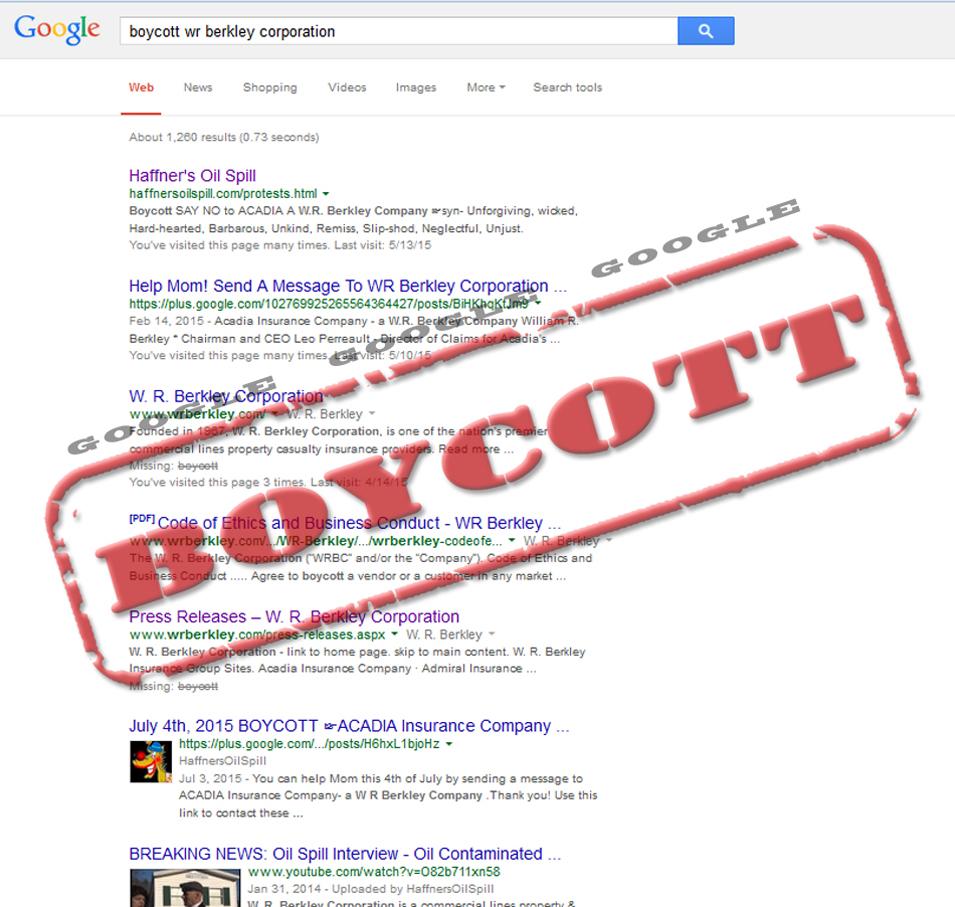 BoycottBerkleyGoogle