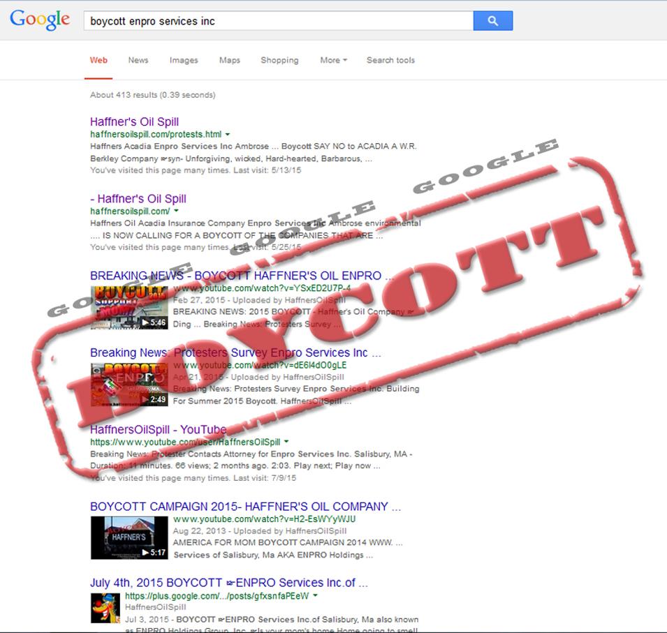 BoycottEnproGoogle