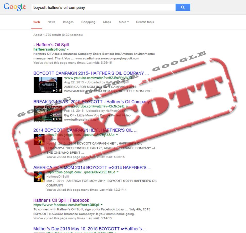 HaffnersBoycottGoogle