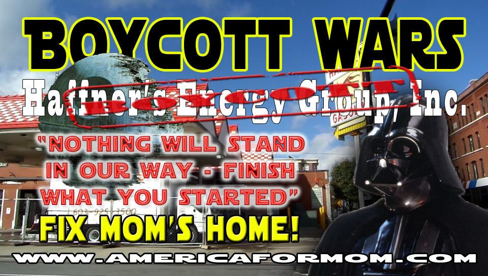 BoycottHaffnersWars